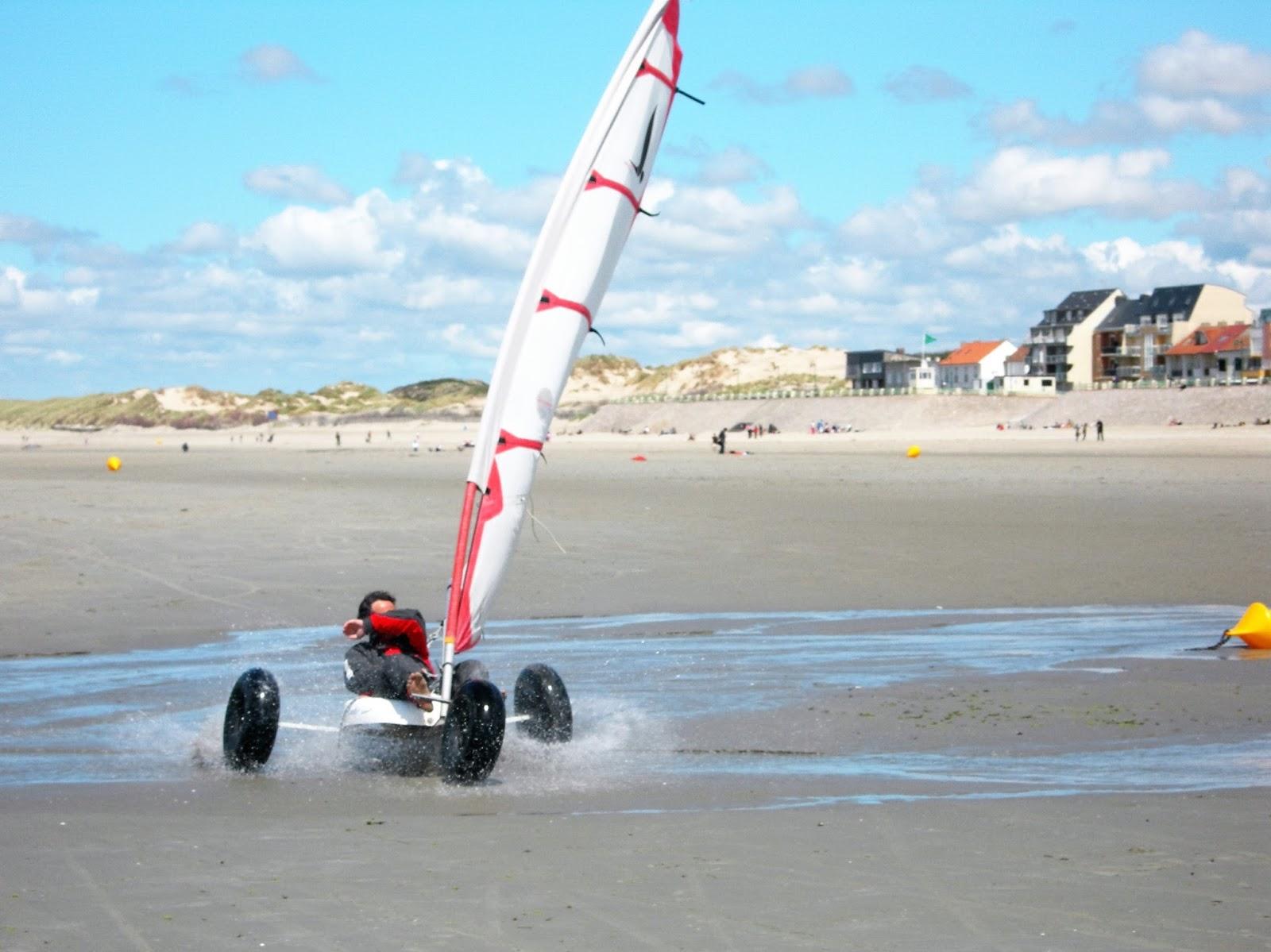 Air Beach Une Super Session De Char A Voile