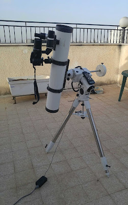 My telescope and camera