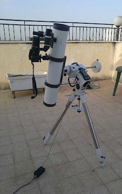 הטלסקופ והמצלמה