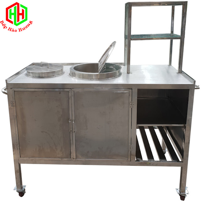 Tủ nấu phở điện Inox Hào Hương