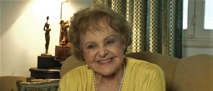 Com 97 anos, atriz de 'Salve Jorge' está internada no RJ