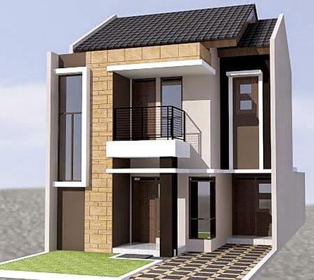 desain rumah minimalis 2 lantai type 36 - foto desain