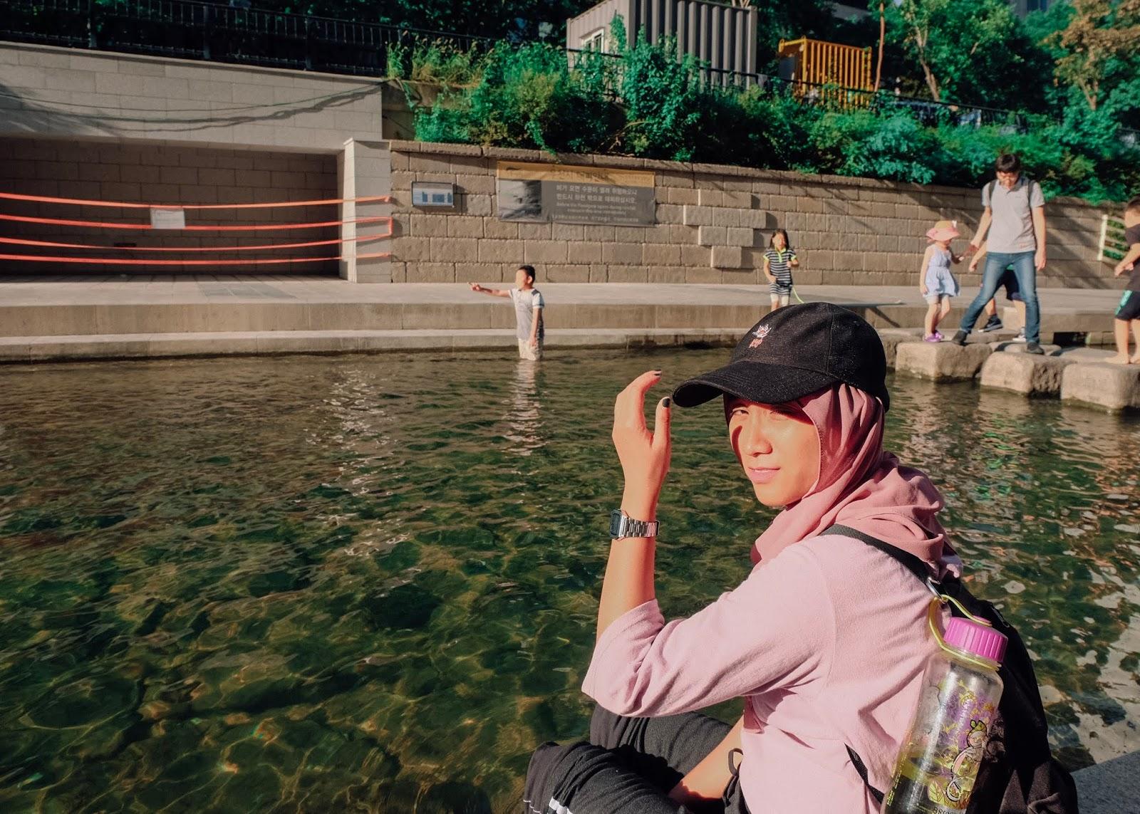 Cheonggyecheon Stream Seoul Korea Curitan Aqalili