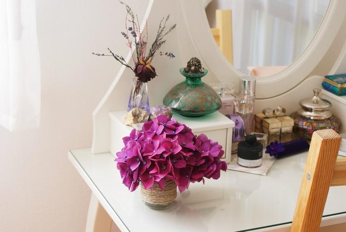 hydrangea ortensia room lifestyle