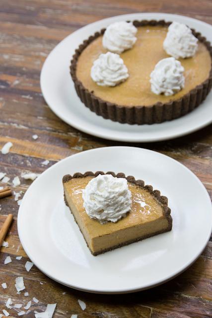 True Food Kitchen Vegan Squash Pie Dessert