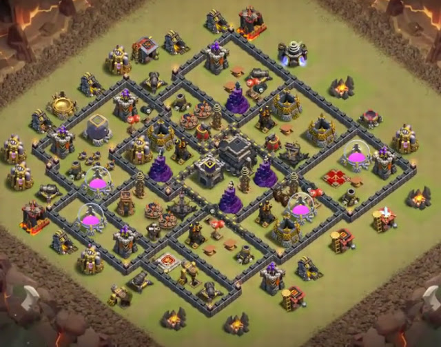 level 9 base design for war
