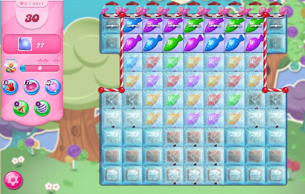 Candy Crush Saga level 6411
