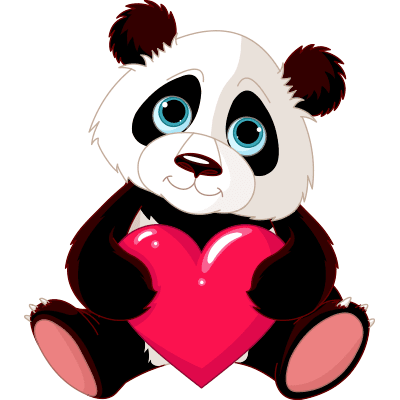 Have a Heart Panda