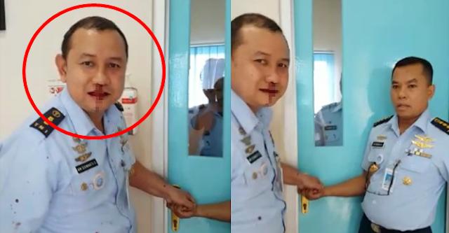 Dua Perwira Menengah TNI AU Berantem, Hidungnya Moncrot Kebentur Kepala