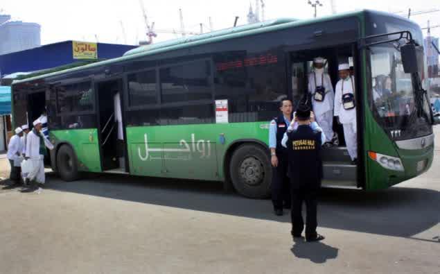 Beroperasi 24 Jam, Bus Salawat Haji Ada Setiap 120 Meter