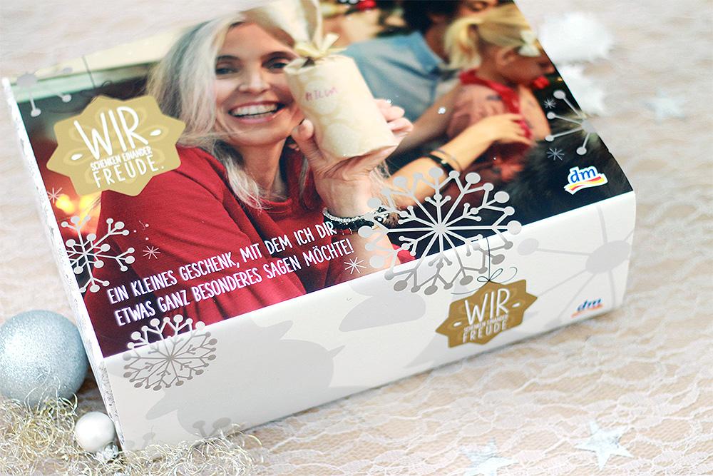 dm Weihnachtsbox 2016 – Bleib so natürlich, wie du bist!