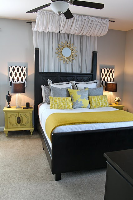 grey and yellow master bedroom neutral master bedrooms 18838