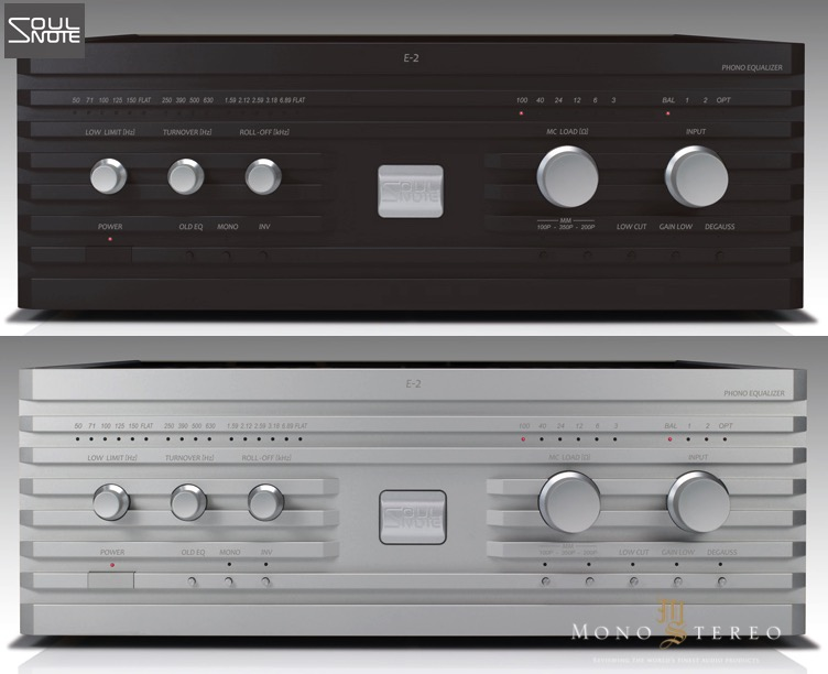 Mono and Stereo High-End Audio Magazine: SOULNOTE E-2 PHONO