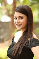 Mannara Chopra in Short Off Shoulder Black Dress ~  Exclusive 021.JPG