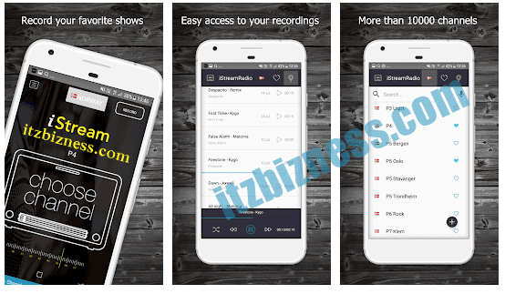 iStream Radio App