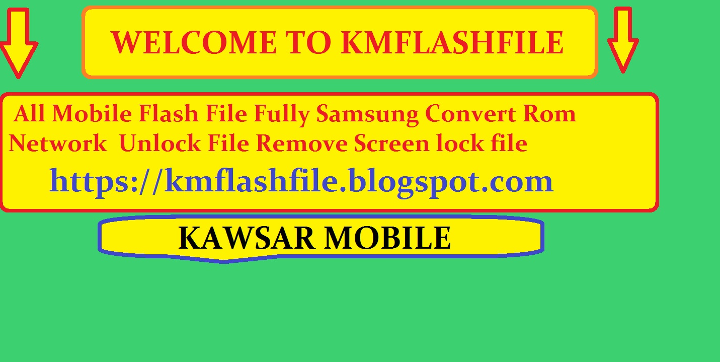 All Mobile Flash File Fully Samsung Convert Rom Network Unlock File