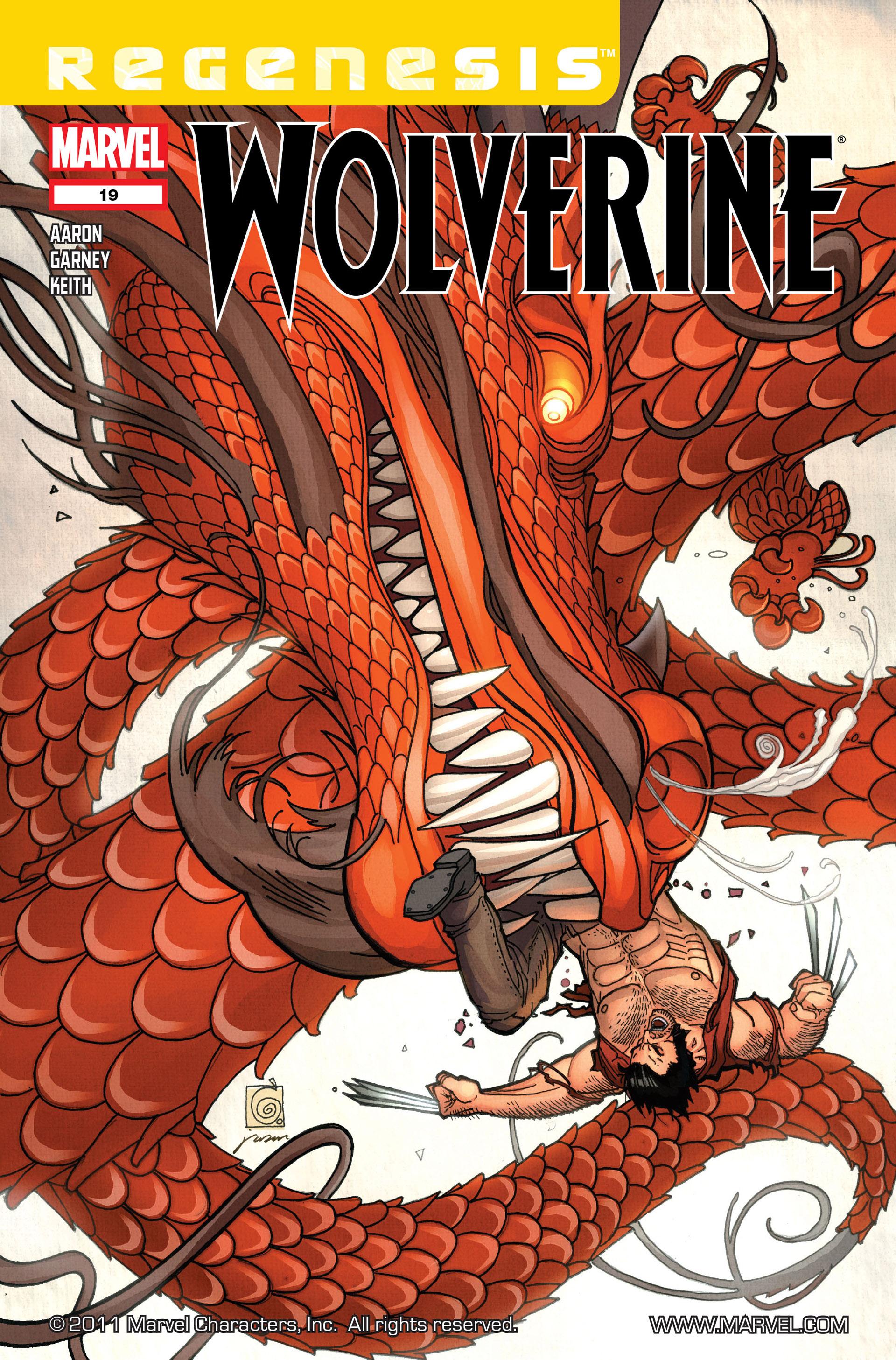 Wolverine (2010) 19 Page 1