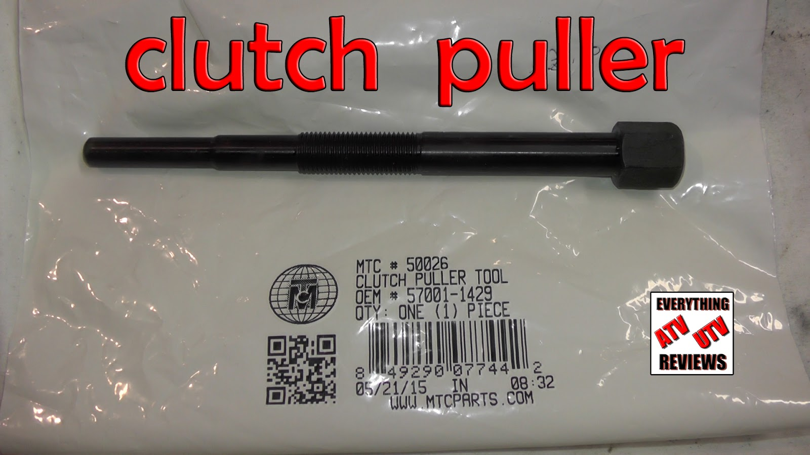Brand New Clutch Puller Tool 57001-1429