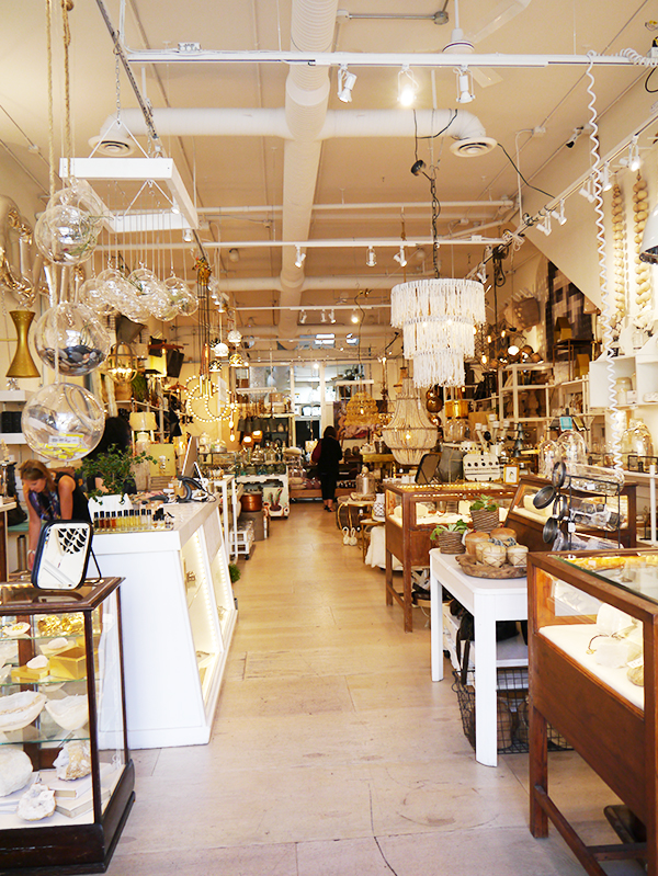 Alchemy home decor store in downtown Kelowna, Okanagan, BC