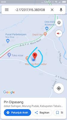 Download Formulir Pengisian Koordinat Peserta Didik Dapodik 2019.a Serta Panduan Singkat