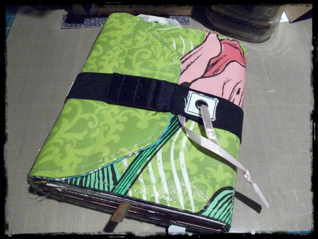 Book Cover Craft Bra : Birdnuts mixed media