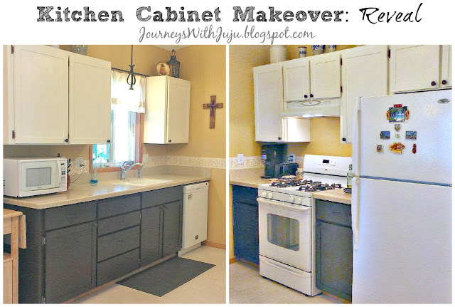 Journeys With Juju Kitchen Cabinet Makeover The Reveal