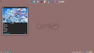 KDE Plasma Flat Activities Wallpaper 2 Create
