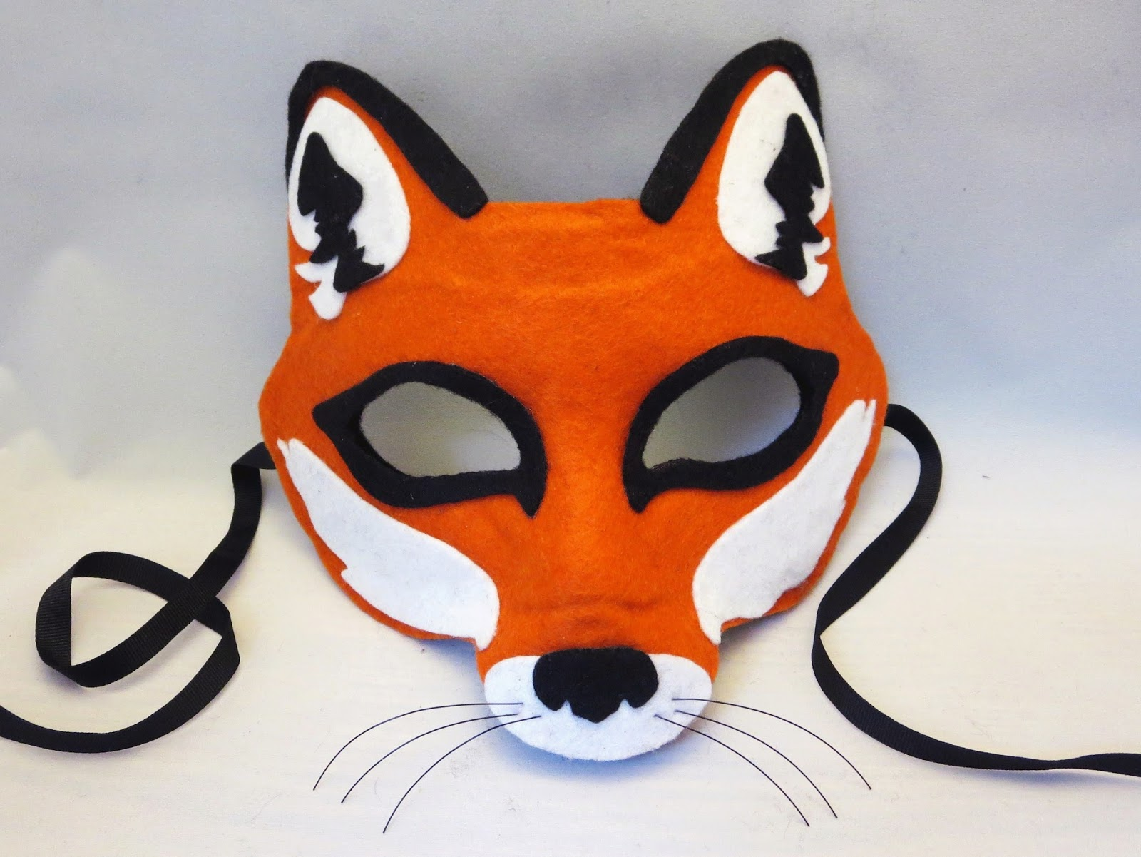 Happenstance: Wedding Felt Animal Masks