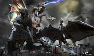godzilla 2: su director confirma los monstruos que apareceran en ella