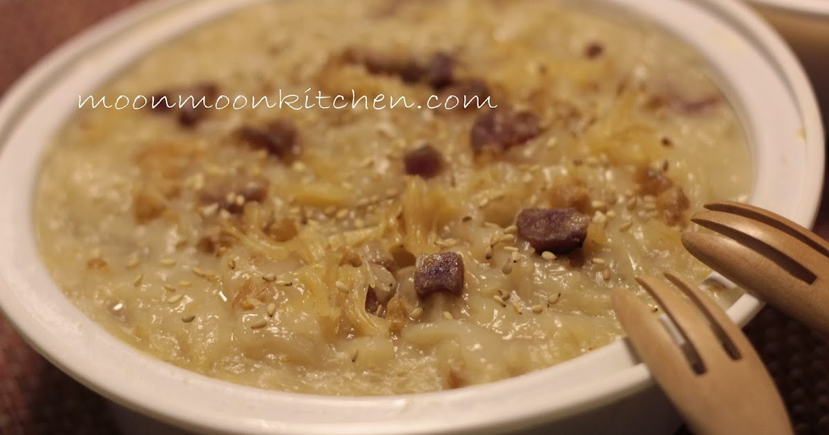 Sandy Mama @ MOONmoon's Kitchen : 食譜 ~【瑤柱臘味蘿蔔糕2014】