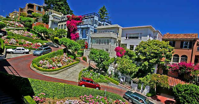 Lombard Street em San Francisco