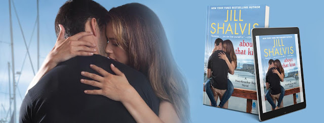 Cover Reveal - ABOUT THAT KISS by Jill Shalvis