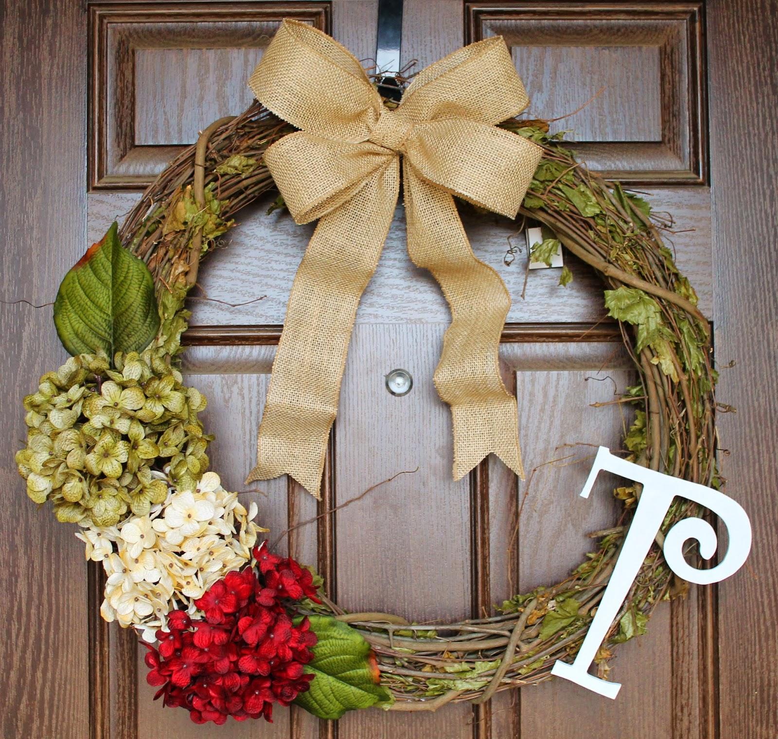 Tucker Up: DIY Christmas Wreath