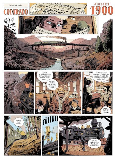"""La Venin tome 1 """"Déluge de feu"""" aux éditions Rue de Sèvres page 11"""
