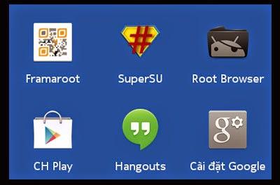 Root cài đặt CH Play cho Nokia X alt