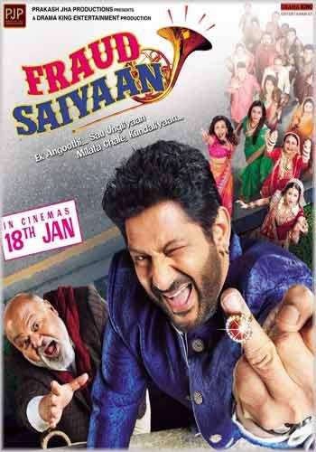 Fraud Saiyyan 2019 Hindi Upcoming Movie Trailer HD Poster