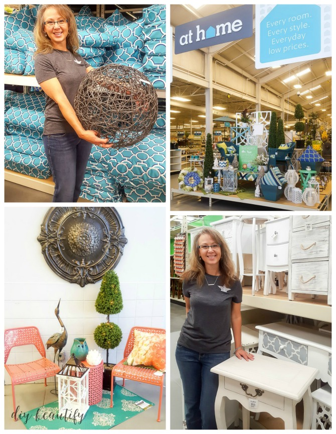 shopping for patio updates at At Home