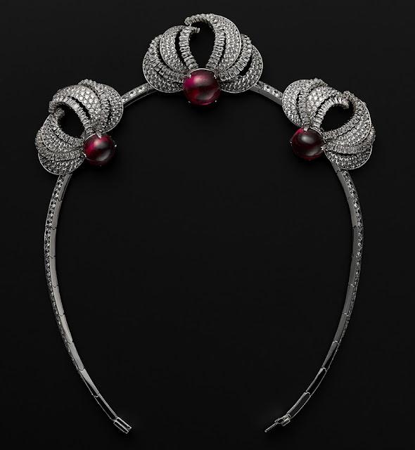 Filme Grace de Monaco, tiara de rubis, joia da Cartier