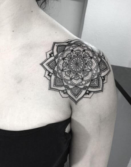 Mandala Tattoo Shoulder