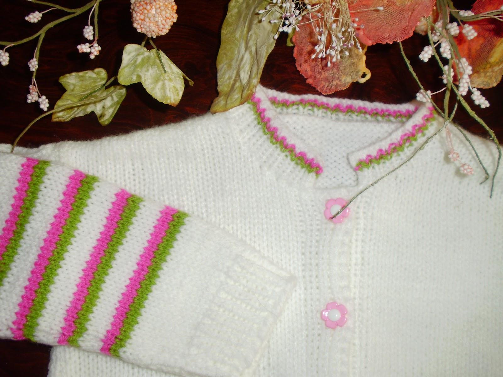 886c8c12f3f Victoria - Handmade Creations : Παιδικό πλεκτό ζακετάκι