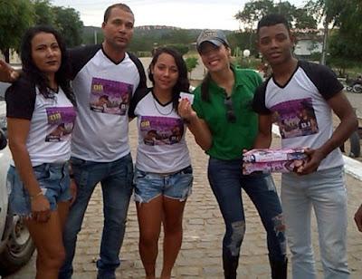 Luciana Rios ganha cabra em sorteio do Catuaba Fest