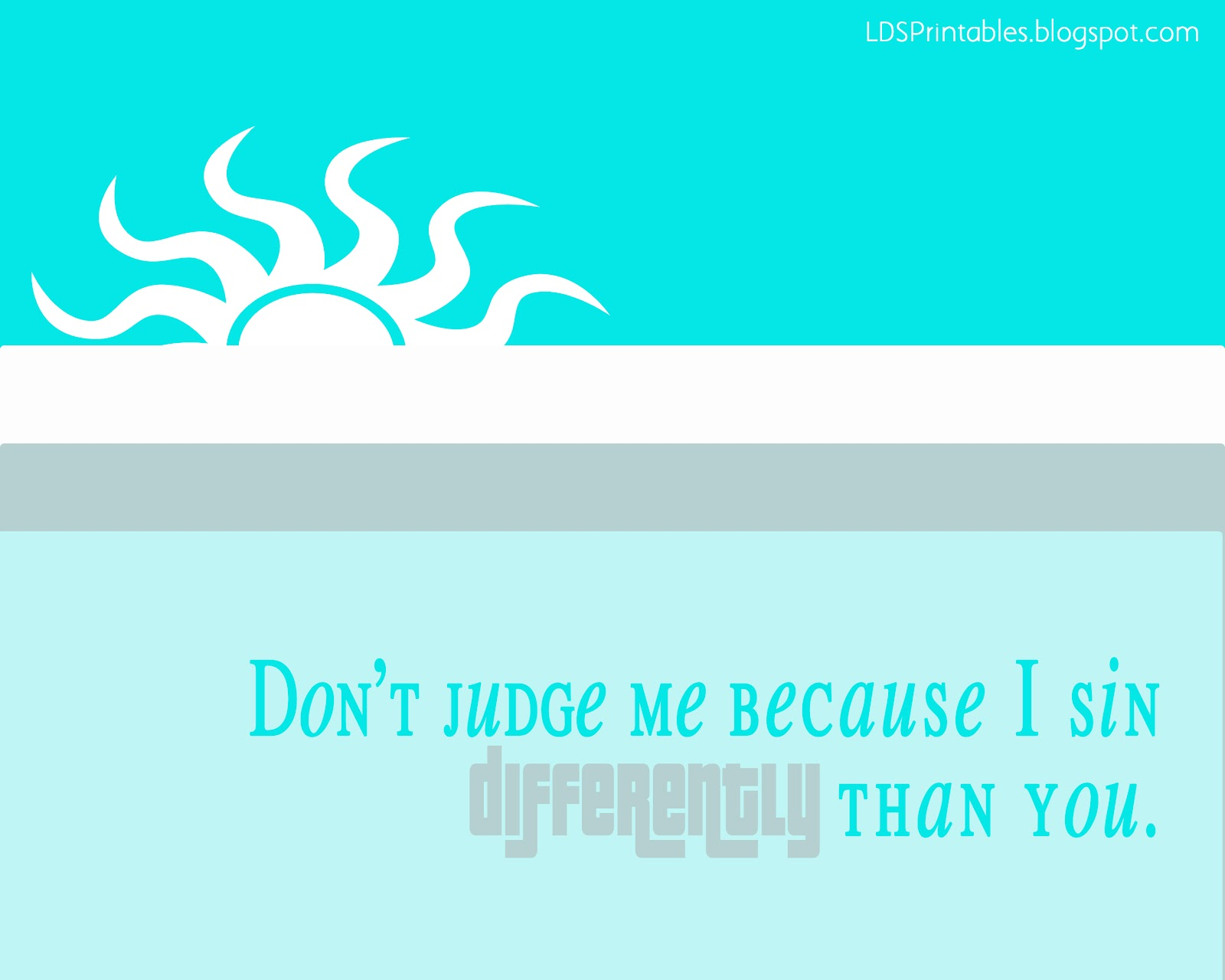 Lds Quotes On Judging Others Quotesgram