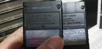 Solusi Masalah Memory Card [MC] PS2 Tidak Bisa Save Game