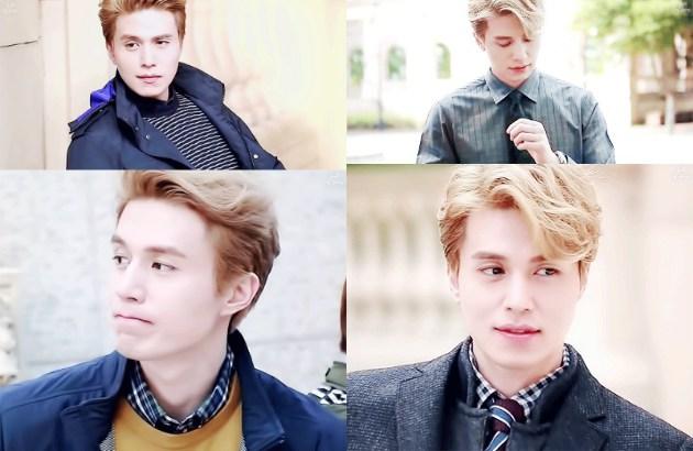 [GAMBAR] Bila Lee Dong Wook Berambut Blonde