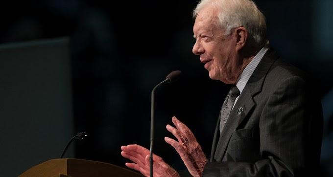 Jimmy Carter, expresidente de EEUU va contra toda la élite del país