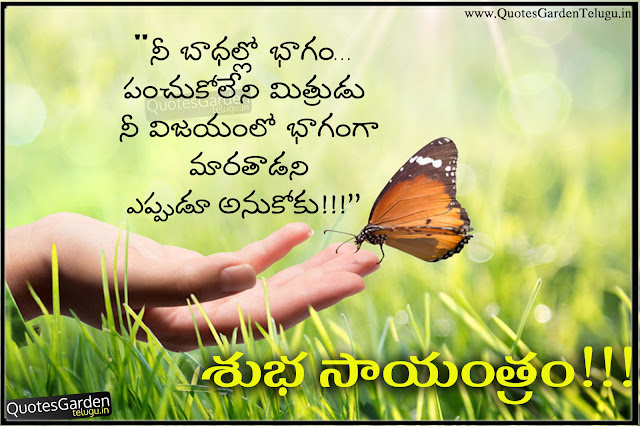 Telugu Good Evening Quotes messages