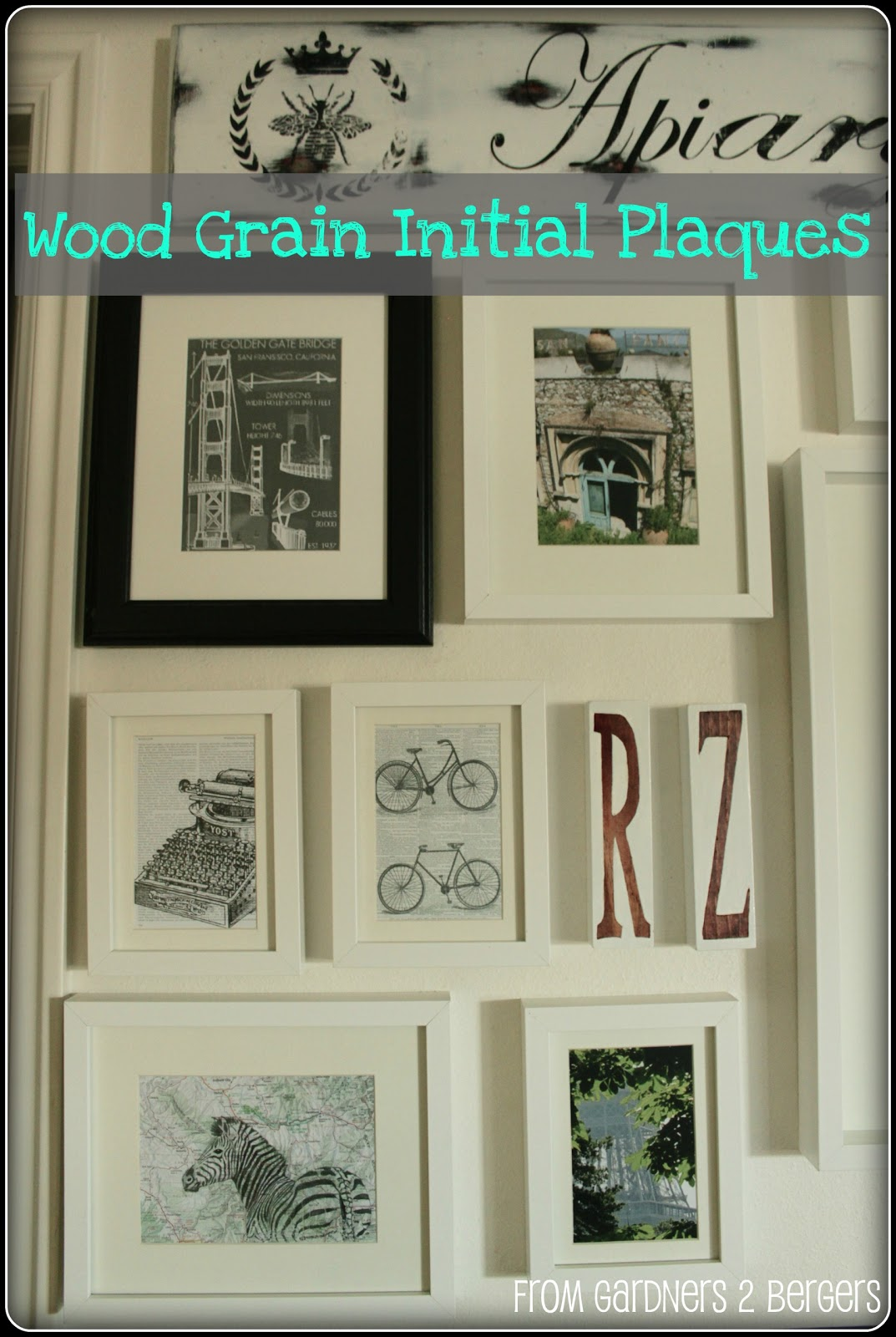 Wood-Grain-Initial-Plaques