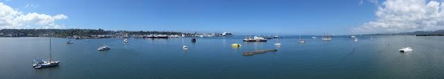 Der Hafen in Suva