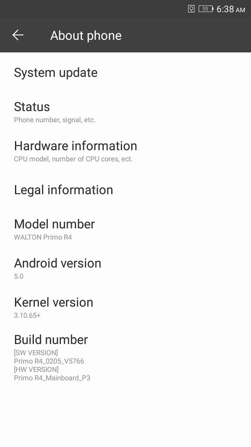 Primo R4 review OS