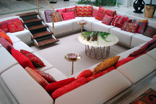 Sunken Living Room Design Ideas & Pictures